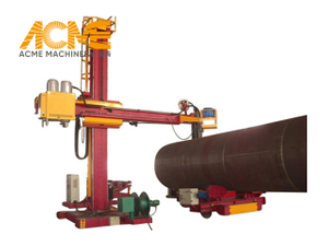 Automatic Precision Pipe Circular Seam Welding Manipulator